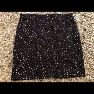 H&M basic stretch mini skirt